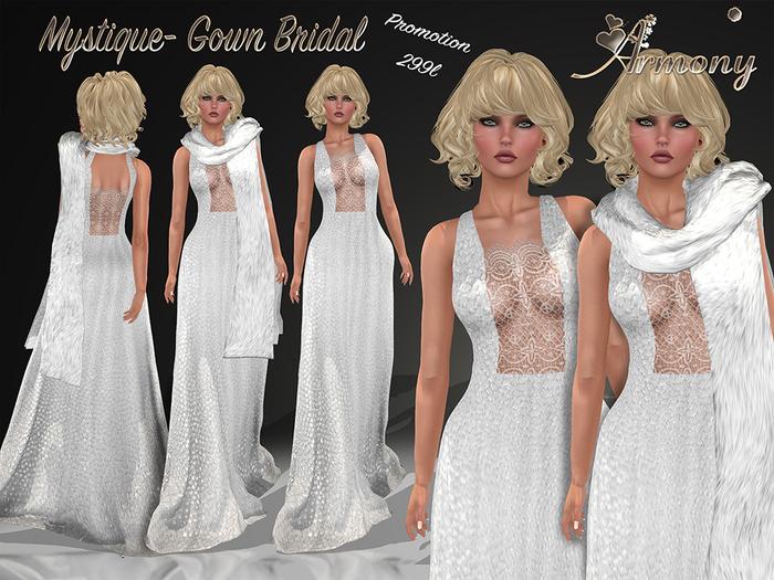 ***ArisAris~Gara19~Mystique~Gown Bridal(PROMOTION 299L)