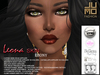 .:JUMO:. Leona Skin Ebony - Catwa Head Applier