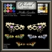 Beloved Jewelry : Mishka Bracelets-Texture Change (Platinum, Gold, Diamond, Amethyst, Ruby) Set of 2 Bracelets