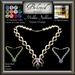 Beloved Jewelry : Mishka Necklace-Texture Change (Platinum, Gold, Diamond, Amethyst, Ruby) Gemstone Necklace