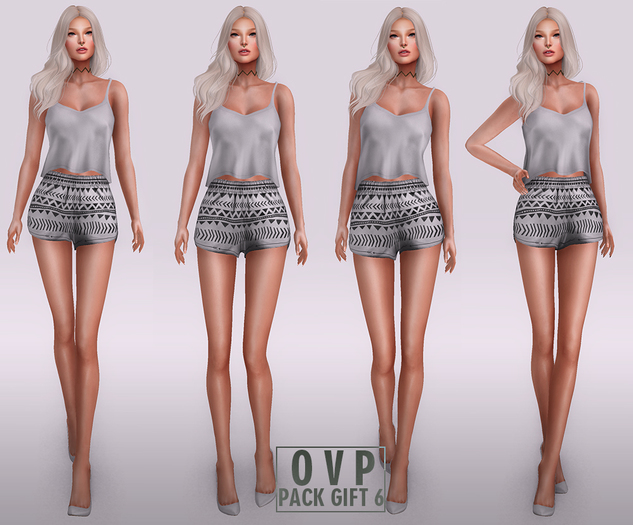 Overlow Poses - Pack Gift 6