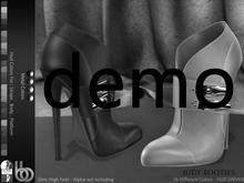 Bens Boutique - Judy Booties Demo