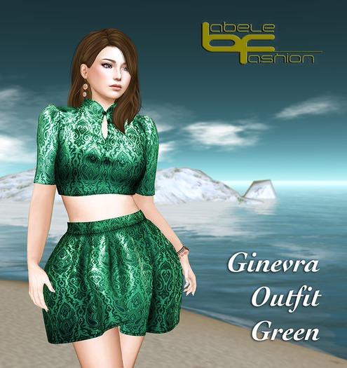Babele Fashion :: Ginevra Outfit Green