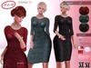 M&M+Maritere Dress & Jewelry+Slink,Maitreya,Belleza,TMP