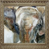 Elephant Picture - Wall Art