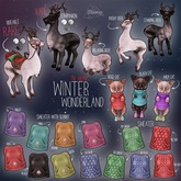 Fawny - Winter Wonderland.Sweater with Bunny - Pink - S