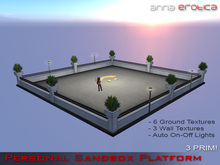 Anna Erotica - Personal Sandbox Platform - 3 Prim! (box)