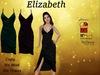 Elizabeth Duo Emerald And Wine