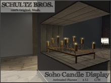 [Schultz Bros.] Soho Candle Display