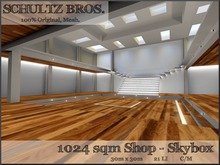 1024 Sqm Shop - Skybox