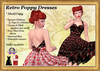 *LBD* Poppy Retro Halter Dress with Slink & Omega Appliers