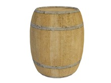 Mesh Wine Barrel - Full Perm