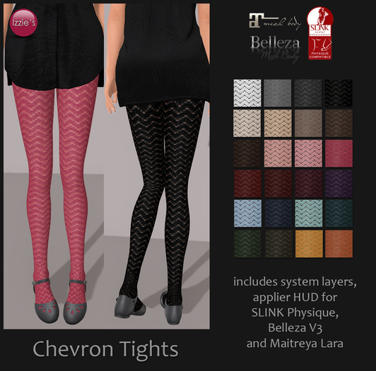 Izzie's - Chevron Tights
