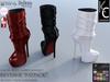 -KC- REVENGE Boots - Slink High, Belleza, Maitreya & Meshproject