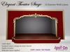 Spot On Elegant Theater Stage - 12 Colors
