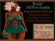 .:::Diva's Closet Renisha Leotard(Full Perm Template):::.