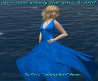 AmazWav Blue Sea dress