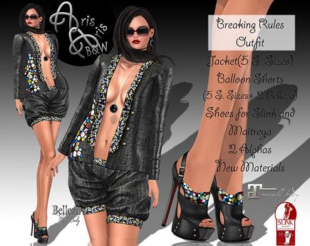 ***ArisAris~Gara09~Breaking Rules -Outfit