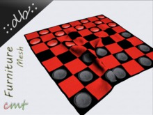 ::db furniture:: Modern home decor Mesh Wool Rug Checkers Game