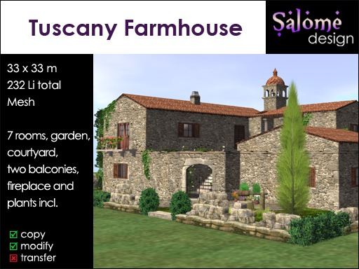 Tuscany Farmhouse Sales Box