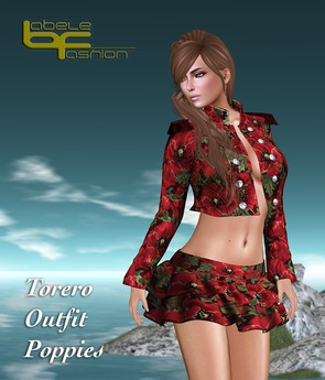 Babele Fashion :: Torero Outfit Poppies