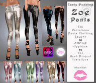 Tasty Pudding - Zoe Pants - Ten Colors - OMEGA Appliers, TMP Installers