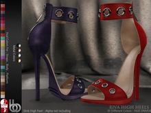 Bens Boutique - Riva High Heels (Slink High) - Hud Driven