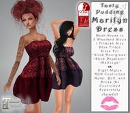 Tasty Pudding - Marilyn Dress - Fitted Mesh - 8 Styles - Maitreya, SLINK