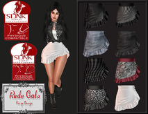 RudeCats - Loud Skirt & Hud *PROMO PRICE*