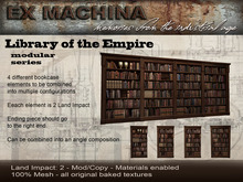 Library of the Empire - Modular System Bookcase