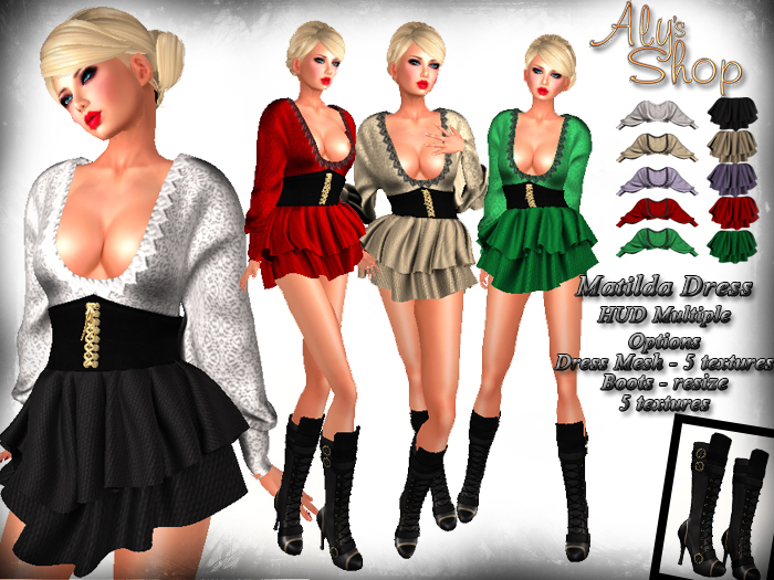 *Aly's Shop* Matilda Outfit