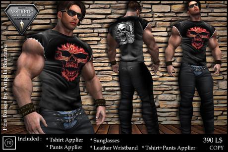 fR* NRM001 Niramith Aesthetic outfit, body applier for ENZO Body mesh