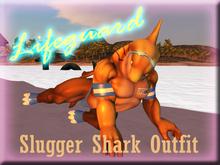 "+Nelaware+ Slugger Shark Lifeguard ""Outfit"""
