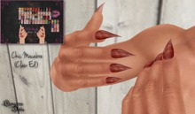 ~GD~Chic Macabre(Claws) - Slink Male RELAXED Mesh Hands