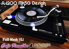 *Cafe Rusalka&USS* SL1000-Mk5G Turntable