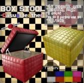 [HD]BOX STOOL -Casual leather-(copy)/original 47 anims