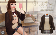 ::C'est la vie !:: Mavis School Look (brown) mesh / Standard Sizes