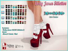 ..::KnocKeRs::..Dolly Janes Stilettos & Socks