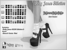 ..::KnocKeRs::..Dolly Janes Stilettos & Socks DEMO