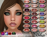 Delizio - Lip Makeup- Lipstick & Lipgloss 25 colors + Appliers for Loudmouth, Nyam Nyam, Soul Kissers, Sweetlips & Omega