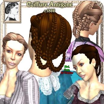 Wunderlich's Victorian Antigone Hair, c. 1866 - Blondes
