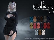 Blueberry - Sera Mesh Dress - Maitreya Lara, Belleza, Slink Physique Hourglass - Fat Pack