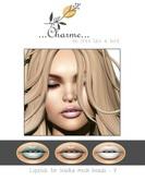 charme - Lipstick for Lelutka Mesh Heads V