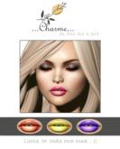charme - Lipstick for Lelutka Mesh Heads II