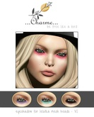 charme - eyeshadow for lelutka mesh heads - VI