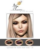 charme - eyeshadow for lelutka mesh heads - IX.