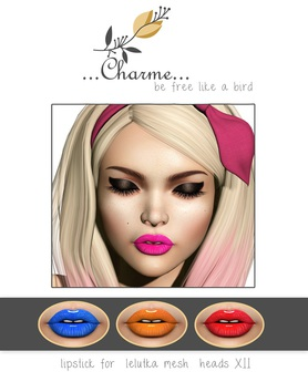 charme - eyeshadow - for lelutka mesh heads V