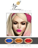 charme - Lipstick for Lelutka Mesh Heads XII