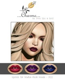 charme - Lipstick for Lelutka Mesh Heads XIII