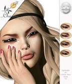 charme - Eyeshadow for Lelutka Mesh Heads - .XII NEW!